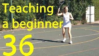 Tennis - Teaching an adult beginner