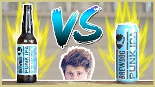 Bouteille VS Canette ! - Une bière et Jivay #27