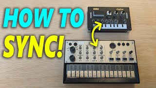 NTS-1: How to Sync with Korg Volcas! (EASY)