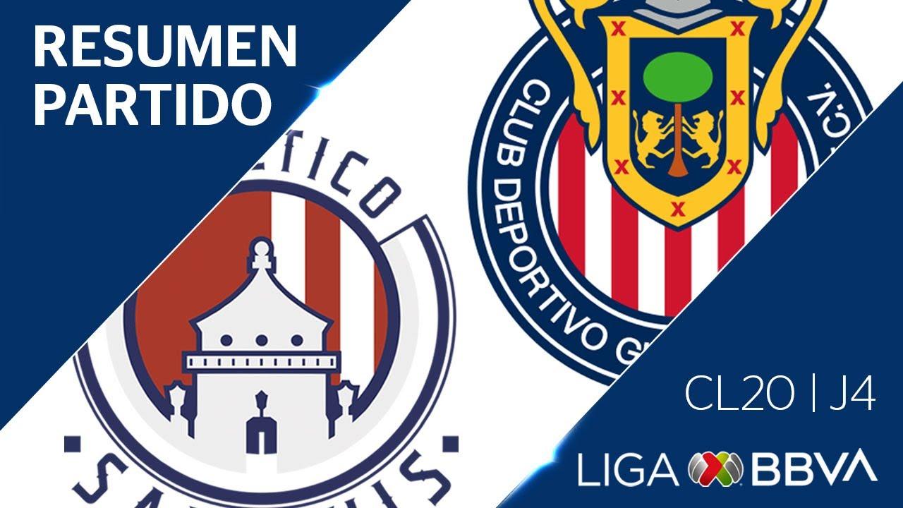 Todos los goles del San Luis 2-2 Chivas: resumen, videos y ...