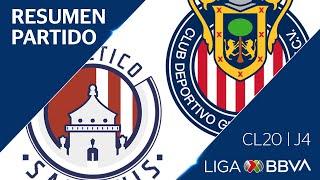 Resumen y Goles | San Luis vs Chivas | Jornada 4 - CL 2020 | Liga BBVA MX