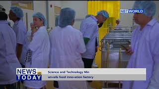 Science and Technology Ministry unveils food innovation factory