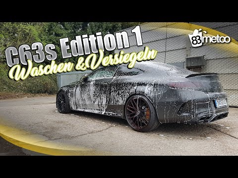 Mercedes AMG C63 S Coupé Edition 1 | Chemical Guys Jetseal Matte Detailer und Shampoo | AMG C63 Porn