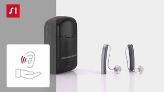 How to charge your Styletto hearing aids on the go