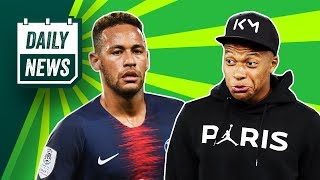 PSG choose Mbappe over Neymar! ► Onefootball Daily News