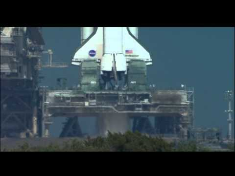 Space Shuttle Endeavour Launch (STS-99) (HD, 720p)