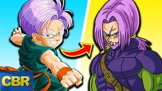 The Evolution Of Trunks From Dragon Ball