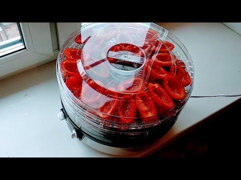 Электросушилка, пробуем вялить мясо и помидоры