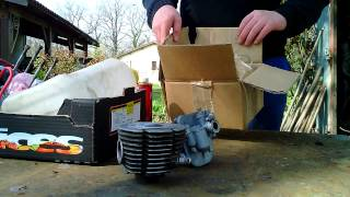 remontage d'un haut moteur de mobylette épisode 1