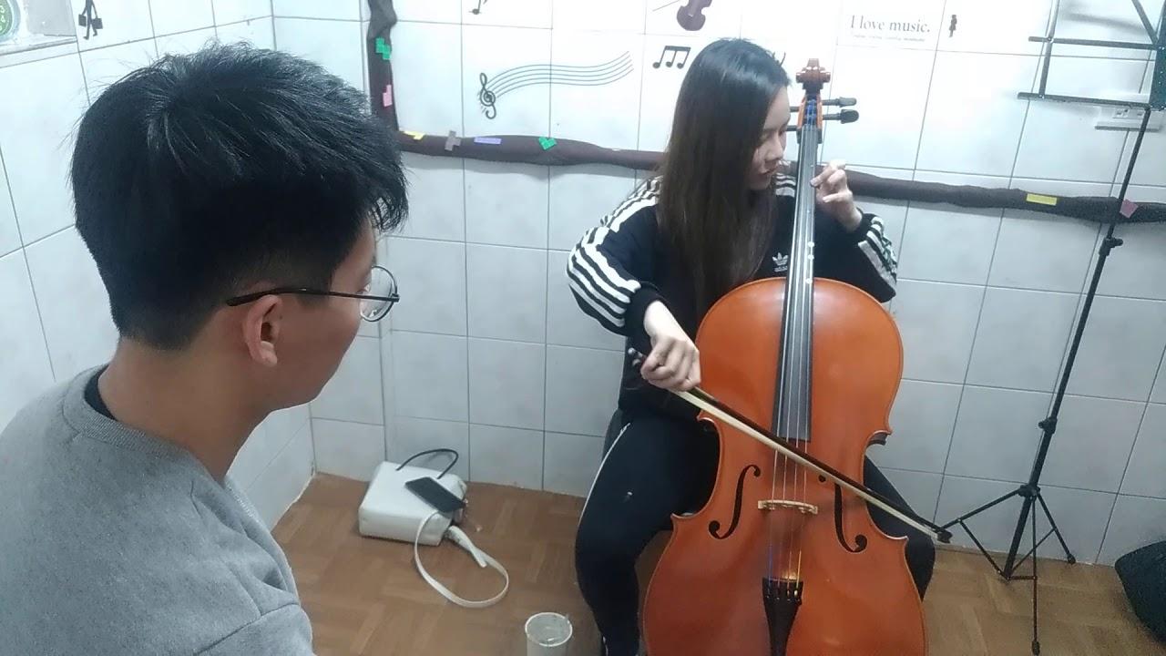 大提琴練習,也就是說要放鬆自如地拉琴,有新手,除了找個好的老師,只要挑一把適合身高的琴,嘉義大提琴老師