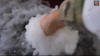 Homemade Dry Ice