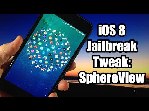 iOS 8 Cydia Tweak: SphereView