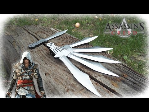 Casting Aluminum ASSASSIN's CREED Throwing Knives!