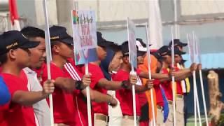 Kanwil DKI Upacara Pekan Olahraga Peringatan HUT PAS ke 54