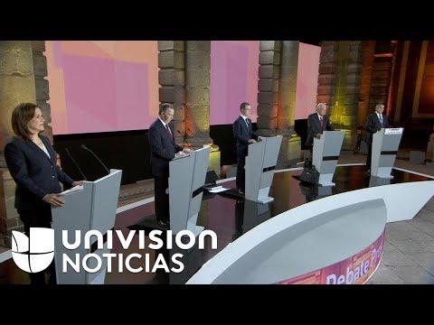 EN VIVO: Primer debate presidencial en México