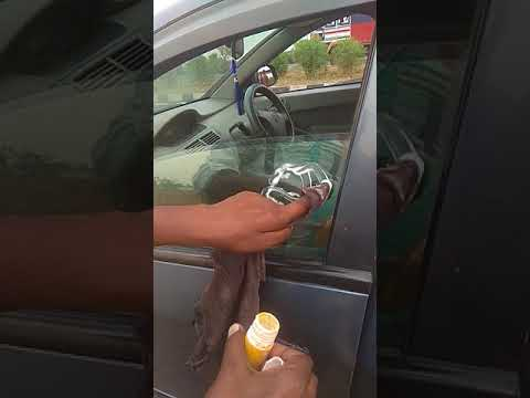 how to remove scratches  from car permanently very easy process