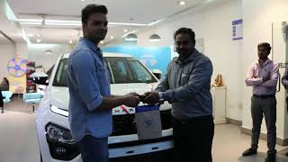 Taking Delivery of TATA Harrier | White | XZ