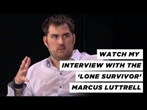 Marcus Luttrell Interview  FULL HOUR INTERVIEW