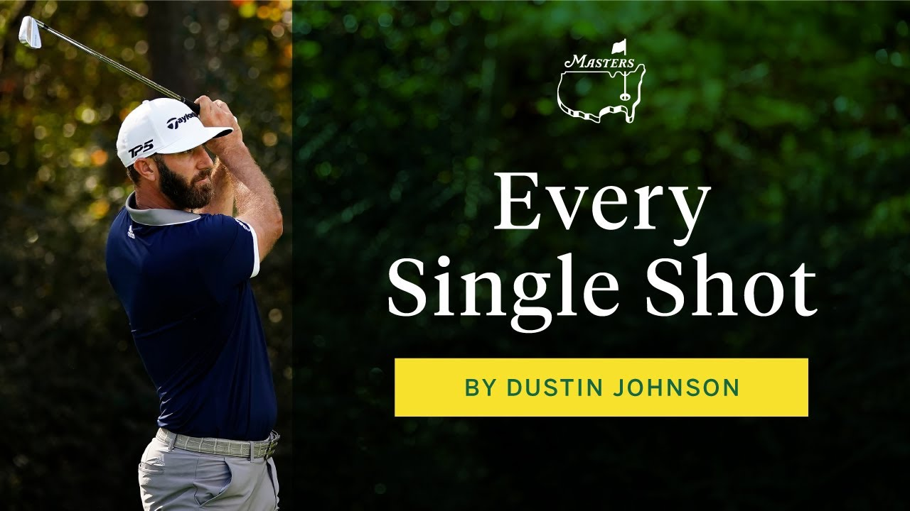 Dustin Johnson, you're ruining the game