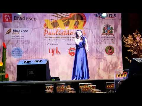 Lívia Kaori Shiba no paulistão de karaokê 2016