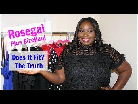 3f128e4a935 Honest Rosegal Plus Size Try On Haul   Review. Stylish Curves