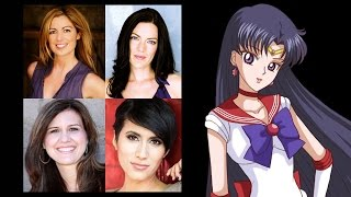 Comparing The Voices - Sailor Mars