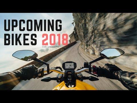 Top 10 Upcoming Bikes in India 2018