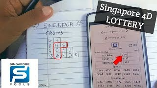 Singapore 4D - Lottery prediction - how to pick & choose 4D from SG new CHARTS  [MALAY]