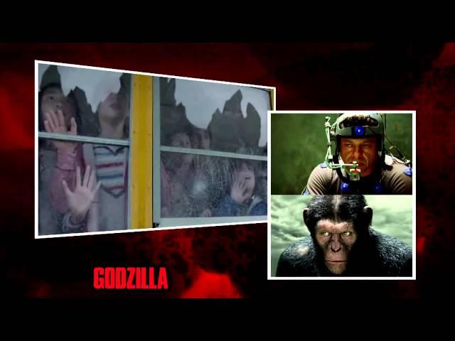 Detrás de Cámaras Godzilla 2014