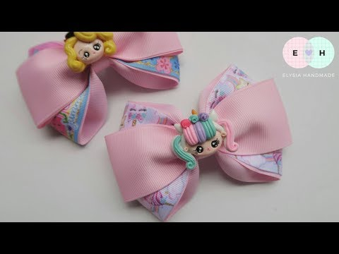 Laço Cruzado 🎀 Ribbon Bow Tutorial #84 🎀 DIY by Elysia Handmade