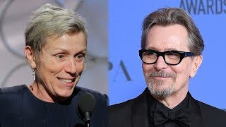 Frances McDormand & Gary Oldman Win Best Actor Awards At 2018 Golden Globes