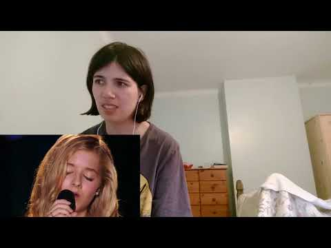 REACTION: JACKIE EVANCHO - AVE MARIA THEN VS NOW
