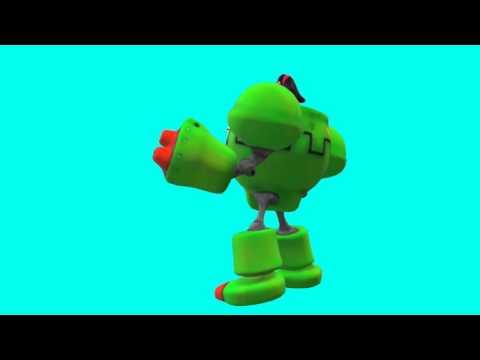 toon robot chroma