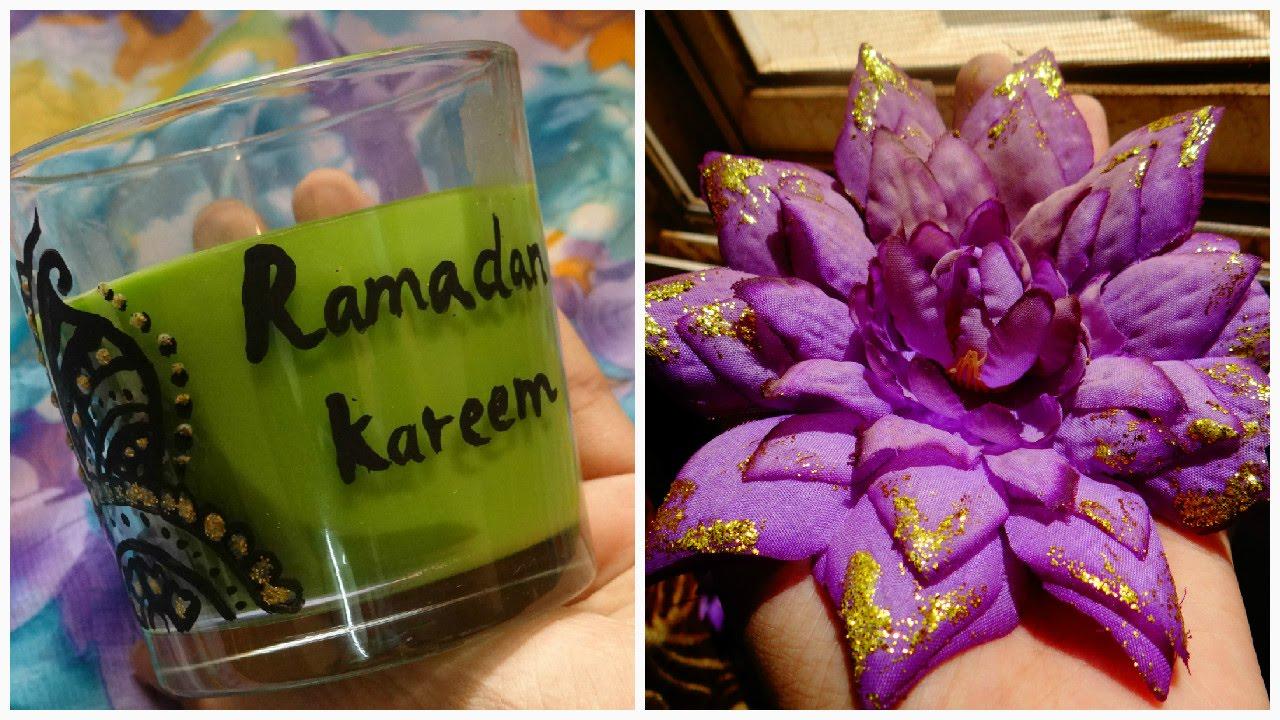 Diy room decorations ramadan youtube for Ramadan decorations at home