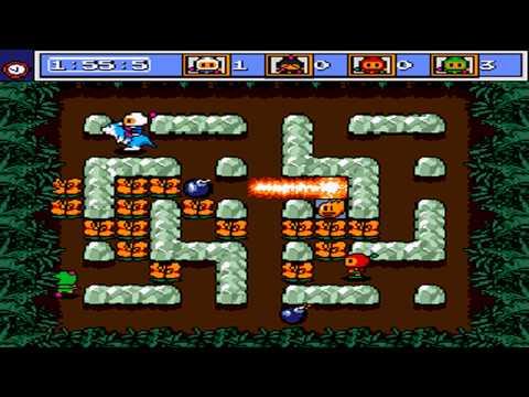 Netplay Mega Bomberman - 4 Player Battle