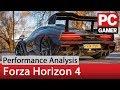 PCGamer Forza Horizon 4 performance analysis