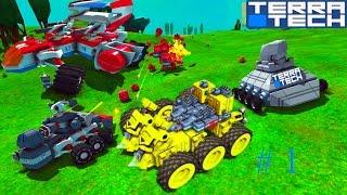 Игровой мультик TerraTech  про боевые машинки  конструируется как лего.  Машины. танки. самолеты.(В игре вы создаете и управляете уникальными боевыми машинками, танками и самолетами и сражаетесь с врага..., 2016-10-06T13:59:48.000Z)
