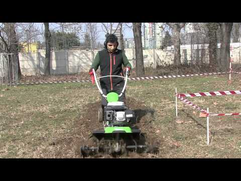 Come fare un orto terreno e motozappa 1a parte  YouTube