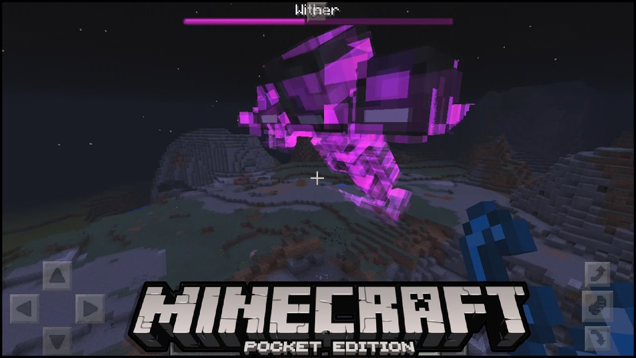 minecraft pe wither addon how to spawn wither