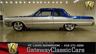 1964 Chevrolet Biscayne - Gateway Classic Cars St. Louis - #6460