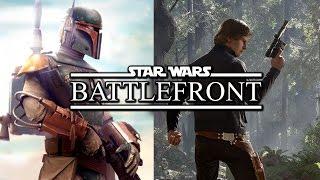 star wars battlefront hero battle han solo vs boba fett gameplay