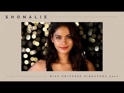Miss Universe Singapore 2017: Shonalie