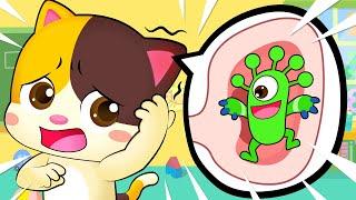 No No Scratch Your Ear | Doctor Cartoon | Boo Boo Song | Kids Songs | Baby Cartoon | BabyBus