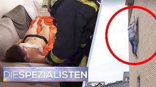 Rettung in letzter Minute von Baby und Mutter: Feuer im Hinterhaus | Die Spezialisten | SAT.1