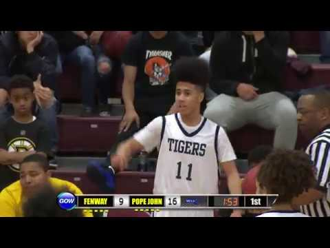 Game of the Week: Boys North Division 4 Semi-Finals - Fenway Panthers  vs Pope John Tigers
