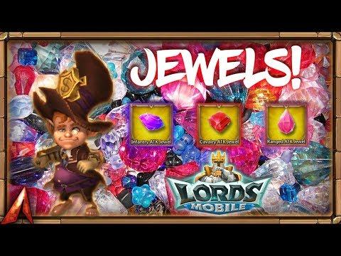 JEWELS JEWELS JEWELS!  Lords Mobile