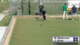 2017 Outdoor Singles - Kirby (MB) vs McNorton (ON)