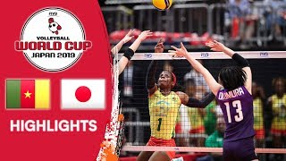 CAMEROON vs. JAPAN - Highlights | Women's Volleyball World Cup 2019