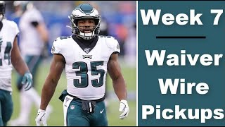 Week 7 Waiver Wire Targets | 2020 Fantasy Football