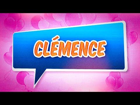 Joyeux anniversaire Clémence